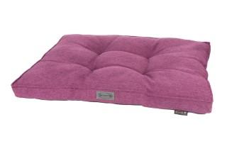 Coussin Scruffs Manhattan Violet Taille L - 100 x 70 cm 700791