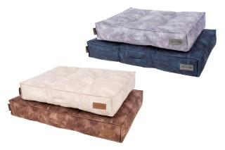 Coussin Scruffs Kensington Bleu Taille L - 100 x 70 cm 700802