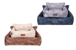 Corbeille Scruffs Kensington Bleu Taille L - 90 x 70 cm 700810