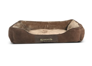 Corbeille Scruffs Chester Marron Taille L - 75 x 60 cm 700826