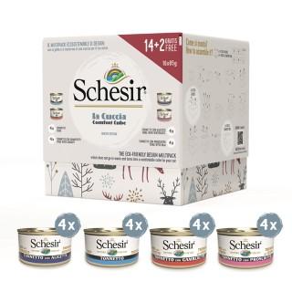 Box de Noël Schesir pour chat 707157