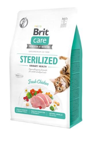 Croquettes Chat - Brit Care Grain Free Sterilized Urinary health - 0,4kg 715447