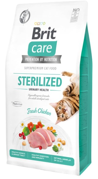 Croquettes Chat - Brit Care Grain Free Sterilized Urinary health - 7kg 715449