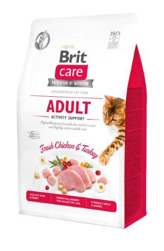 Croquettes chat - Brit Care Cat Grain Free Adulte Activity Support - 0,4kg 715462