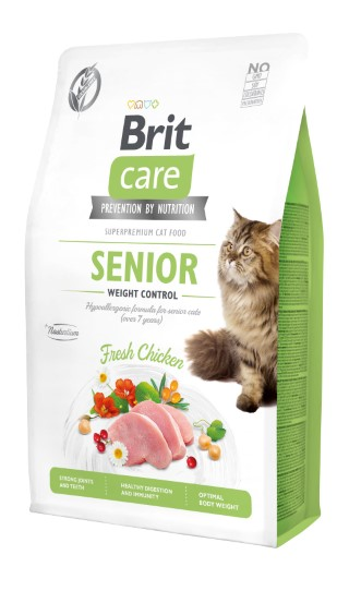 Croquettes chat - Brit Senior Weight Control - 2kg 715469