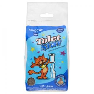 Litière chat Sivocat ToletStar 100% recyclée 7L - 4,5kg 717168