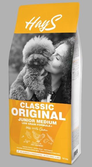 Croquettes Chien - Hays Classic Medium Junior - 15 kg 740331