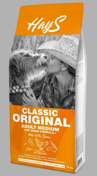 Croquettes Chien - Hays Classic Original Medium Adult - 15kg 740337