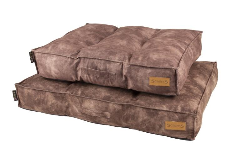 Coussin Scruffs Kensington Marron Taille M - 80 x 60 cm 700796