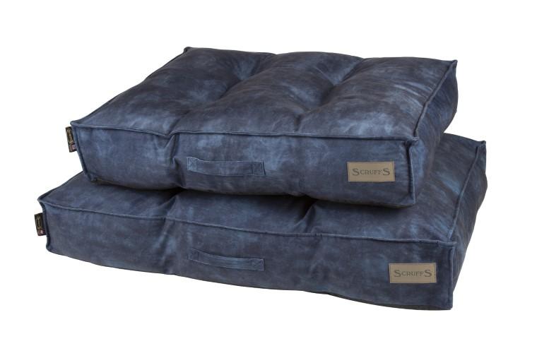 Coussin Scruffs Kensington Bleu Taille M - 80 x 60 cm 700798