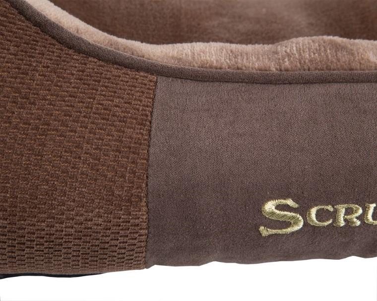 Corbeille Scruffs Chester Marron Taille S - 50 x 40 cm 700824