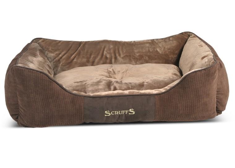 Corbeille Scruffs Chester Marron Taille XL - 90 x 70 cm 700827