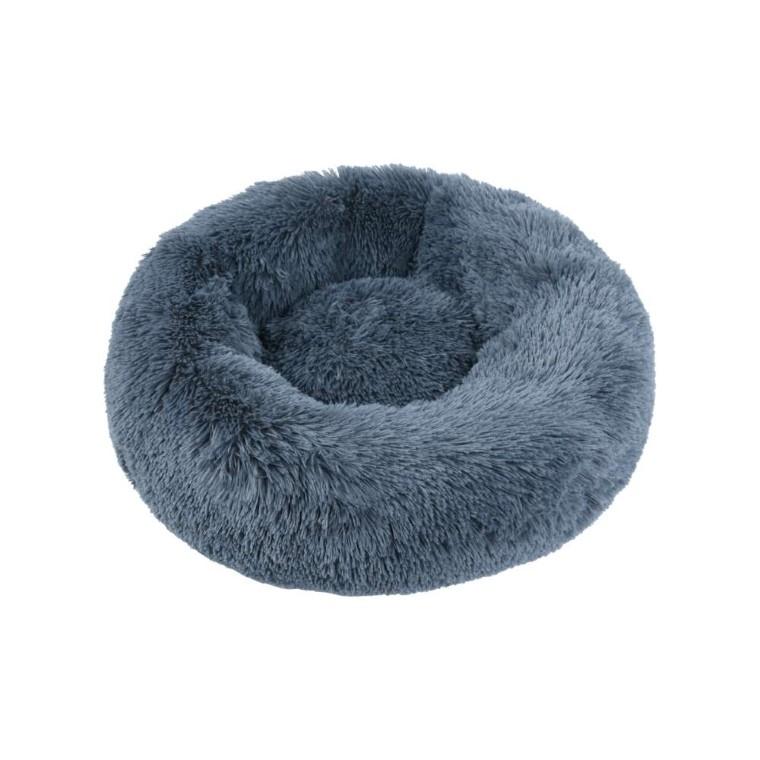 Corbeille ronde moelleuse grise 50cm 711220