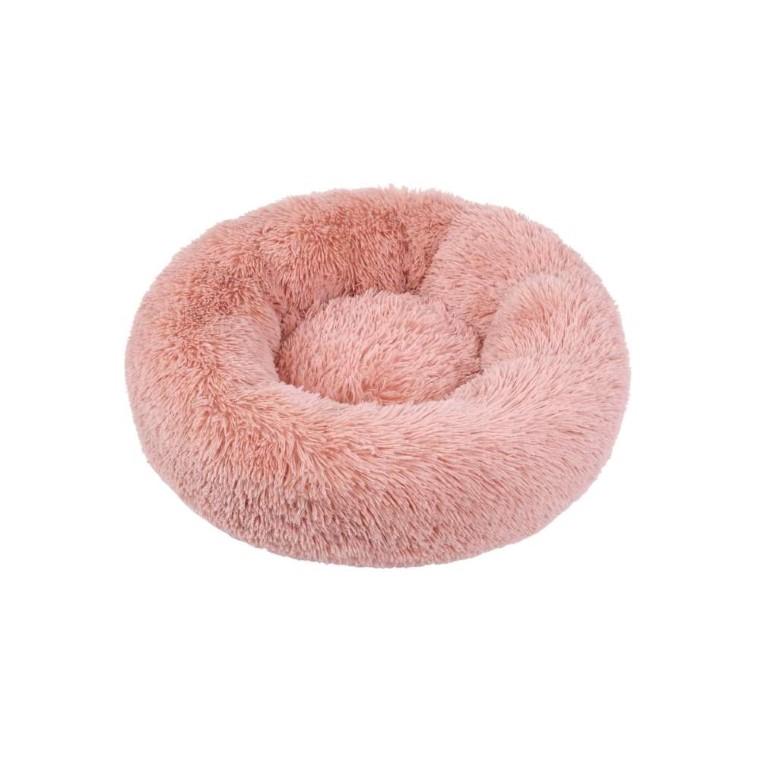 Corbeille ronde moelleuse rose 50cm 711221