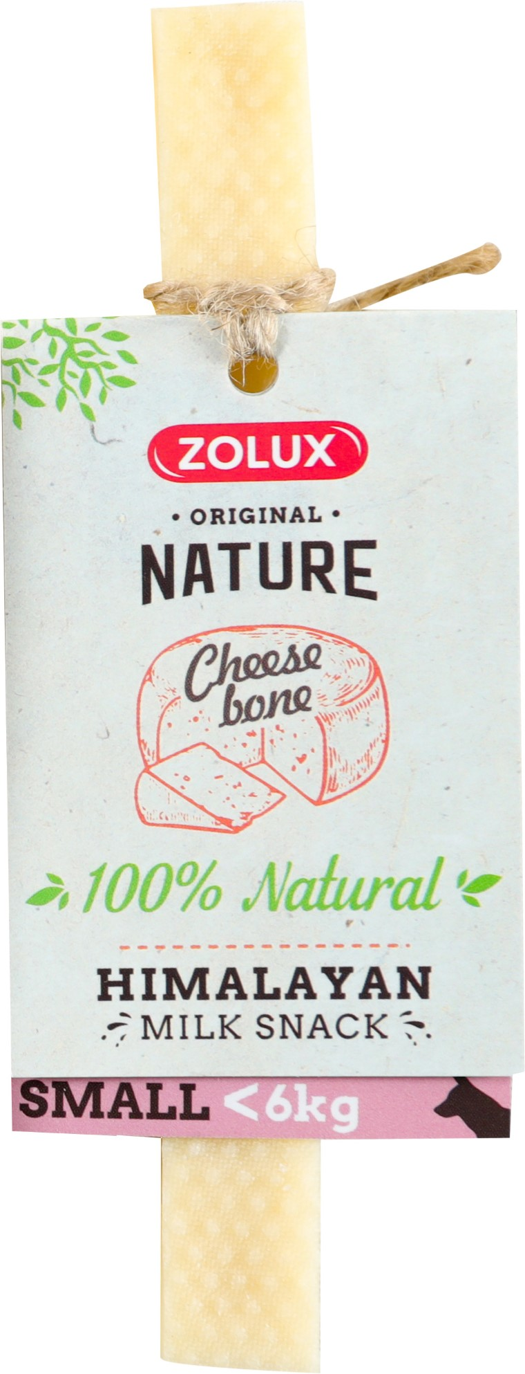 Friandise chien - Zolux cheese bone Taille S 716367