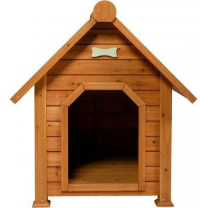 Niche chien en bois Toundra médium 78409
