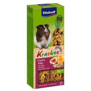 Kräcker fruits cochons d'Inde x2 Vitakraft 117g 819156