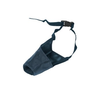 Muselière nylon Taille 5 noire 28,5cm 884354