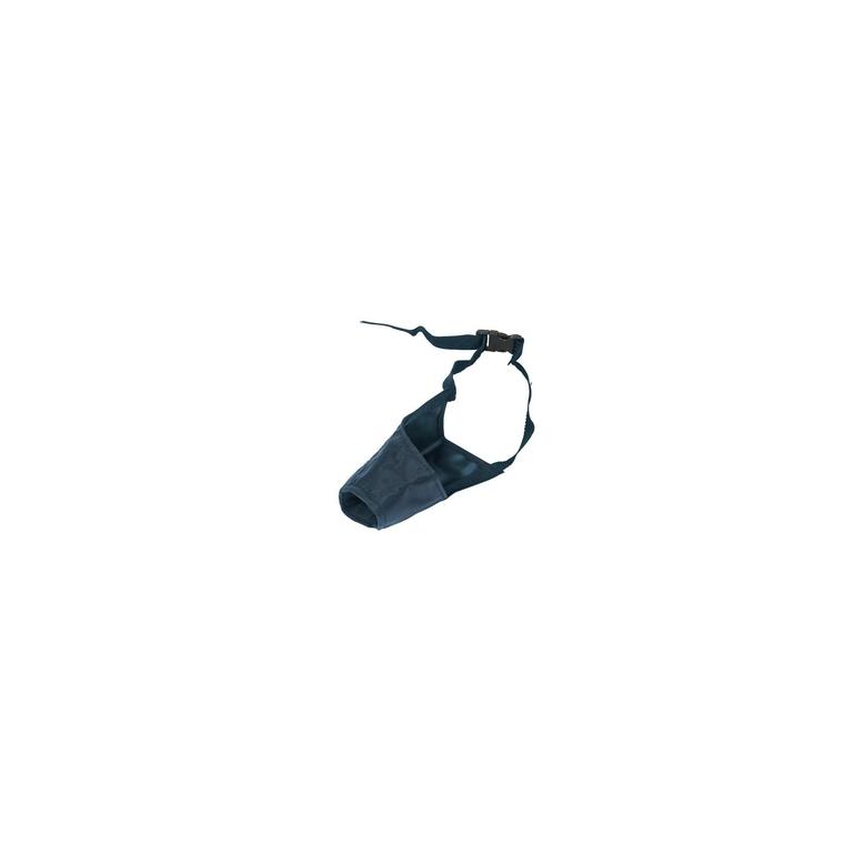 Muselière en nylon noir - taille 4 803427