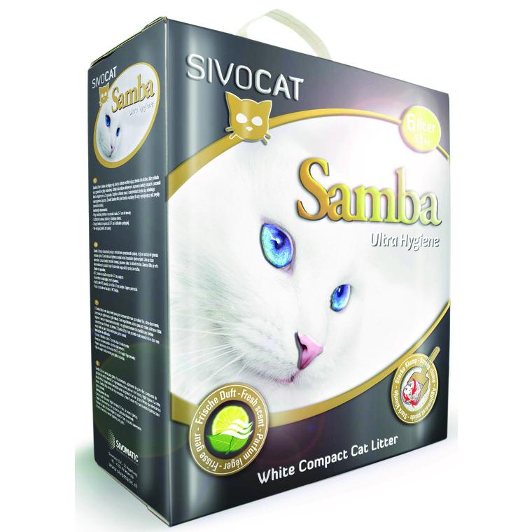 Litiere Sivocat Samba 6L 872454