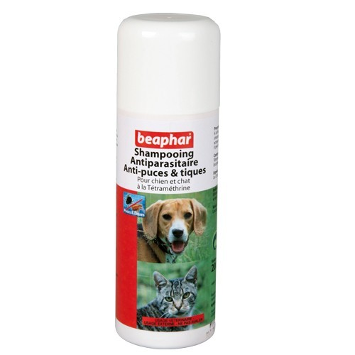Shampooing antiparasitaire chiens/chats Beaphar® 882889