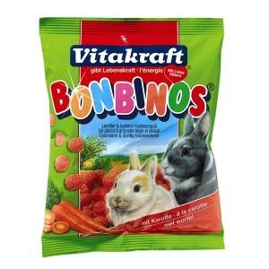 Drops Bonbino'S carotte lapin nain Vitakraft® 40g