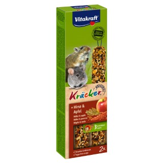 Kräcker Corn & Fruit souris x2 Vitakraft 60g 925879