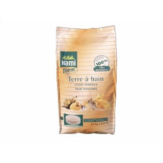 Terre à bain chinchillas Hamiform® 2.5kg 960973