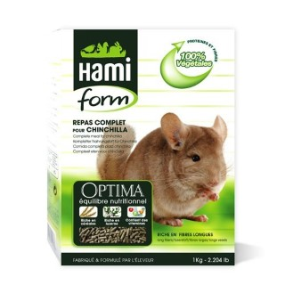 Repas complet chinchilla Hamiform 1kg 960974