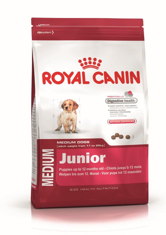 Croquette chiot Royal Canin Medium puppy 15kg 836016