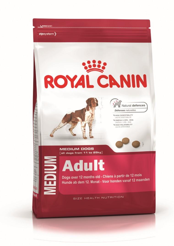 Croquette chien Royal Canin Medium adulte 15kg 923427