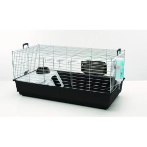 Cage cobaye Nero 2 de luxe Zen noir Savic 80x50x44cm 975294