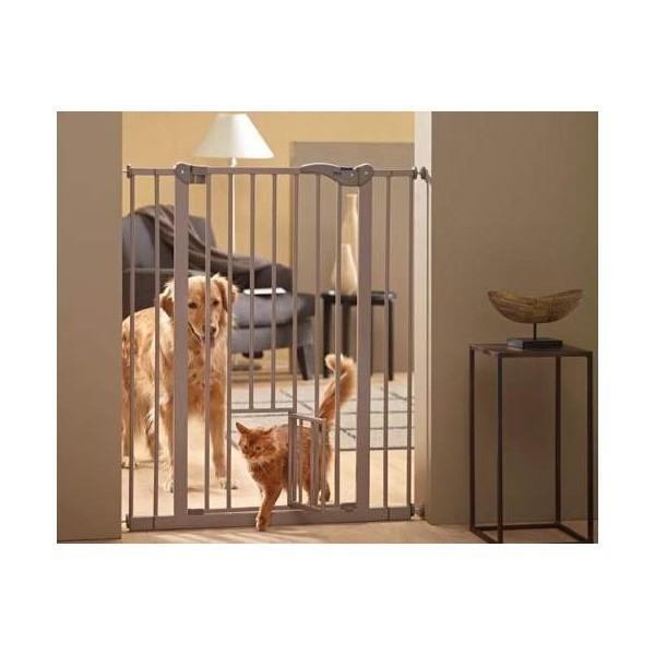 Barrière - Dog Barrier 107cm Savic avec porte pour chats 975862