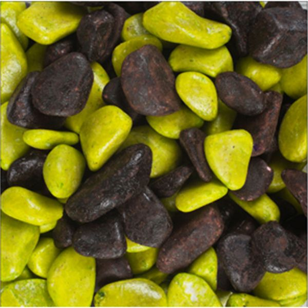 Gravier vernis choco vert citron 2kg Girard 975898