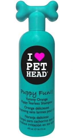 Shampooing pour chiot hypoallergénique Puppy fun Pethead 976813